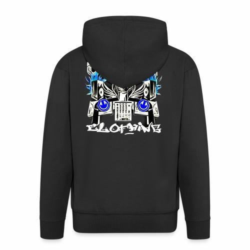 Upfront Clothing DJ Merchandise - Men's Premium Hooded Jacket
