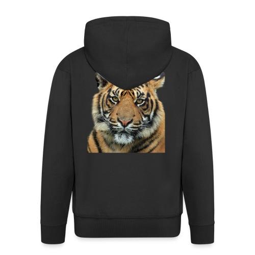 tiger 714380 - Felpa con zip Premium da uomo