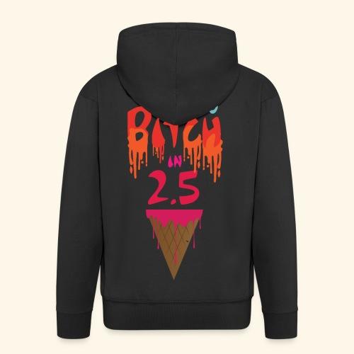 Zero to Bitch - Men's Premium Hooded Jacket