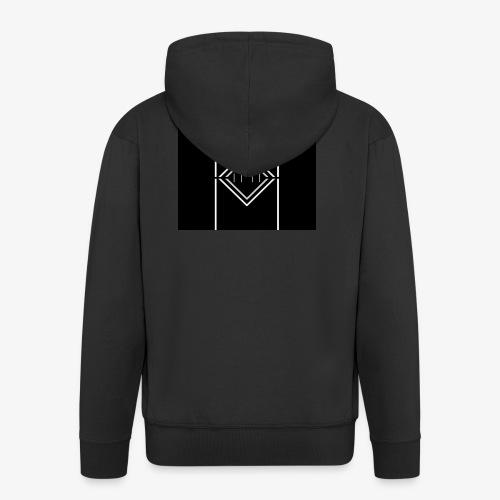 WFM logo Full - Men's Premium Hooded Jacket