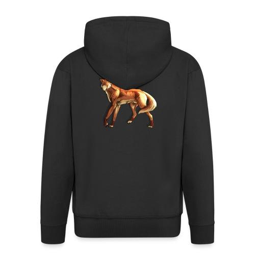 Fox of the night - Men's Premium Hooded Jacket
