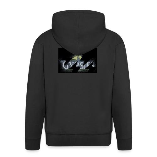 GYPSIES BAND LOGO - Men's Premium Hooded Jacket
