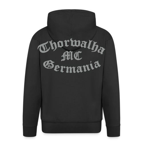 Thorwalha - MC - Germania - Schriftzug - Männer Premium Kapuzenjacke