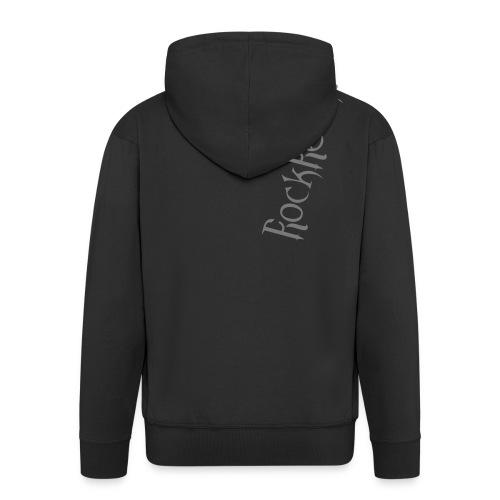 Rockrelikt Schriftzug - Männer Premium Kapuzenjacke