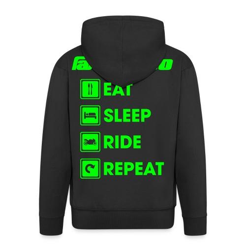 stezco_hoodie - Veste à capuche Premium Homme