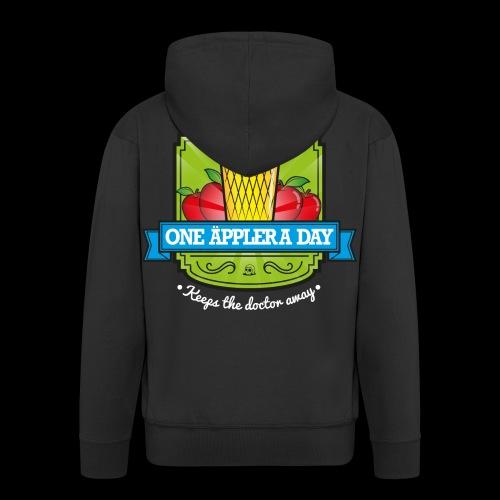 One Äppler a day Kapuzenjacke - Männer Premium Kapuzenjacke