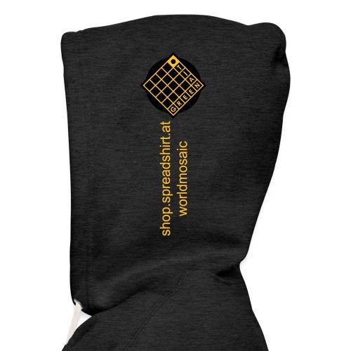 TIAN GREEN Welt Mosaik Shirt - Logo 2020 - Männer Premium Kapuzenjacke