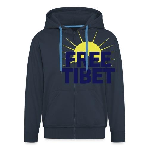 Free-Tibet Team Tibet - Männer Premium Kapuzenjacke
