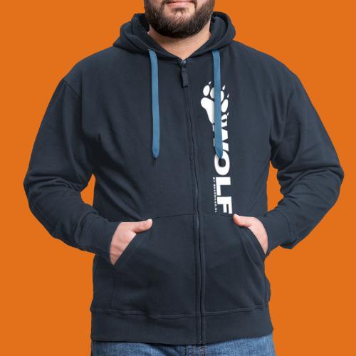 wolf 2011 - Men's Premium Hooded Jacket