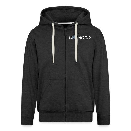 logolomoco3cweiss - Männer Premium Kapuzenjacke