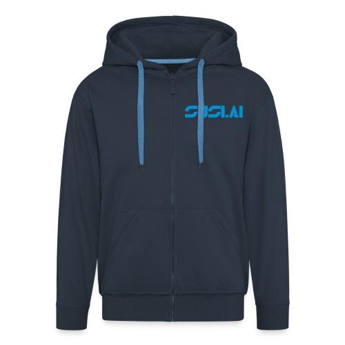 SUSI.AI Logo - Men's Premium Hooded Jacket