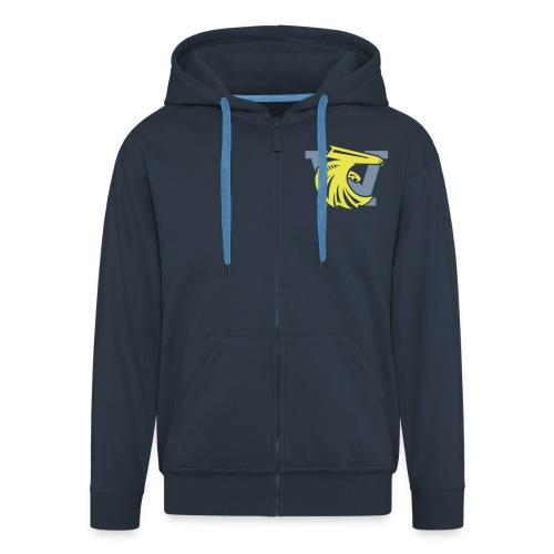 we_logo_bicolor - Veste à capuche Premium Homme