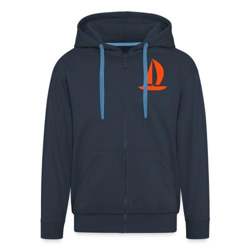 segelboot - Männer Premium Kapuzenjacke