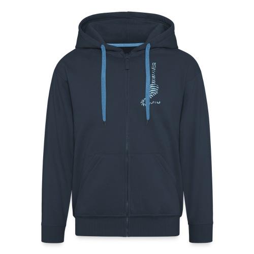 Tiger Uke - Men's Premium Hooded Jacket