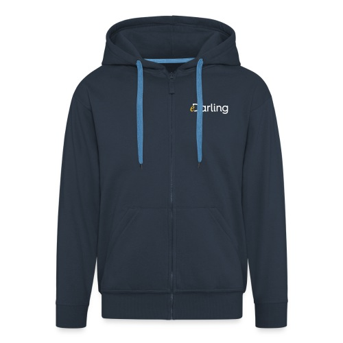 eDarling Logo Light - Männer Premium Kapuzenjacke