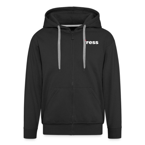 IRESS_Logo_SPOT - Men's Premium Hooded Jacket
