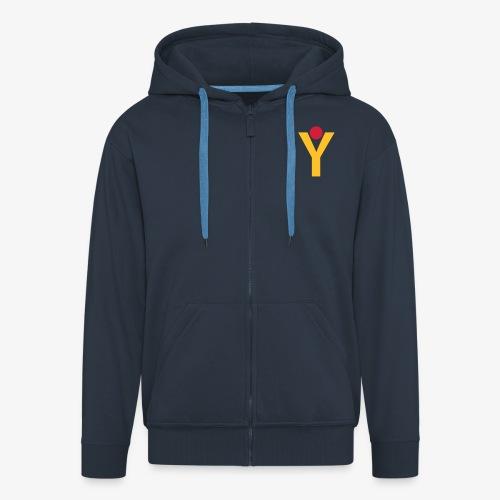 Logo YGOI AI - Männer Premium Kapuzenjacke