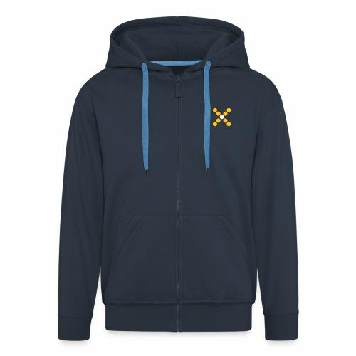 lmn symbol - Männer Premium Kapuzenjacke