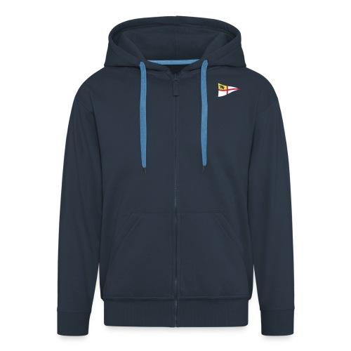 ROYC Logo 3 Farb Dunkel SIMPLE - Männer Premium Kapuzenjacke