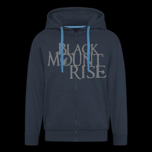 BMR Schriftzug simple black - Männer Premium Kapuzenjacke