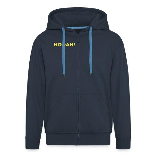hooah - Männer Premium Kapuzenjacke