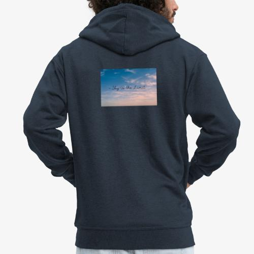 Sky is the limit - Männer Premium Kapuzenjacke