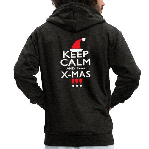Keep calm XMAS - Männer Premium Kapuzenjacke