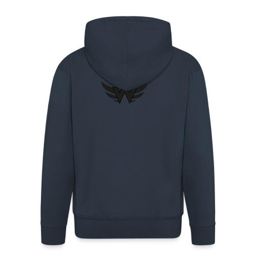 Logoshirt WorldCrime - Männer Premium Kapuzenjacke
