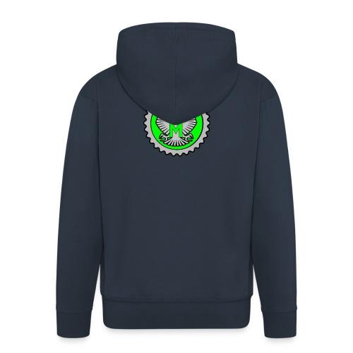 rogue black - Men's Premium Hooded Jacket