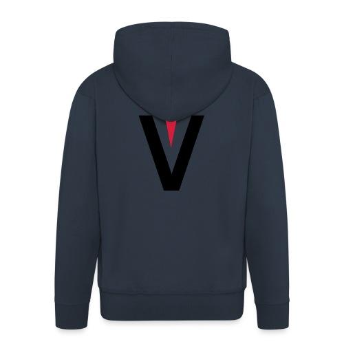 Vega Small Logo - Men's Premium Hooded Jacket