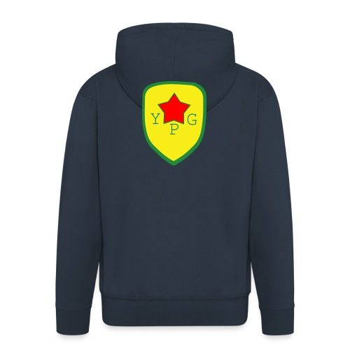 YPG Snapback Support hat - Miesten premium vetoketjullinen huppari