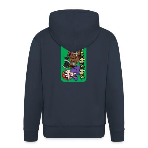 iphone 44s01 - Men's Premium Hooded Jacket