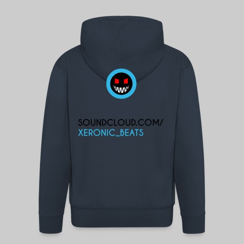 XERONIC LOGO - Men's Premium Hooded Jacket