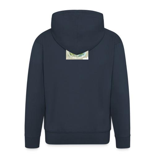 ROSTRO DE JESUS CON CODIGOS SAGRADOS - Chaqueta con capucha premium hombre