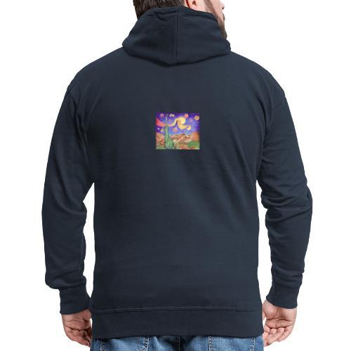 1 - Chaqueta con capucha premium hombre