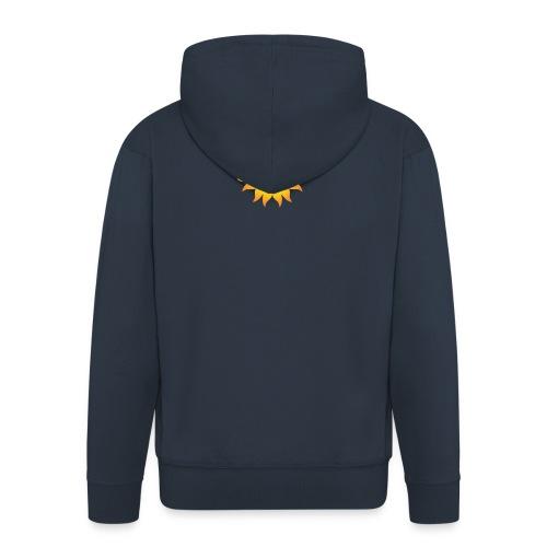 sol T-shirt - Herre premium hættejakke