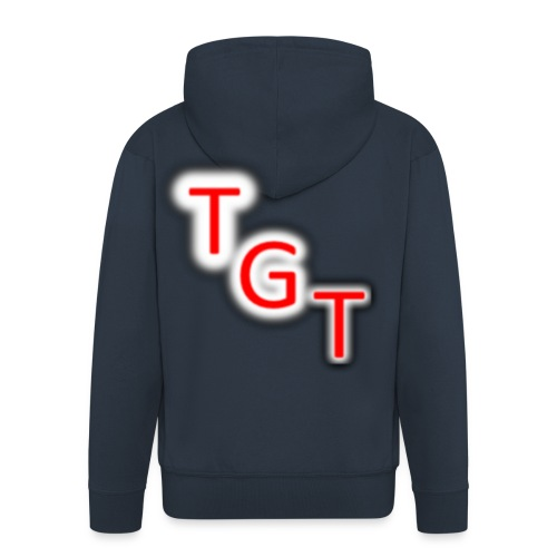 my first t shirt design0234 png - Men's Premium Hooded Jacket