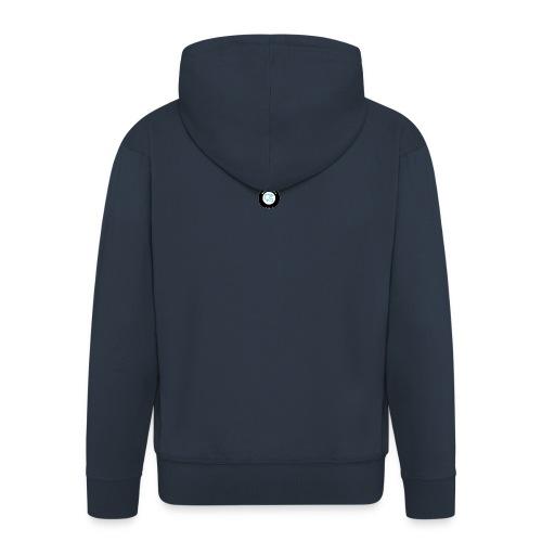 Bluewheelie hoodie (blue) - Men's Premium Hooded Jacket