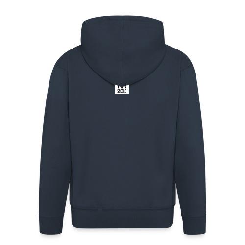 MUSEO_XX_SECOLO_LOGO - Felpa con zip Premium da uomo