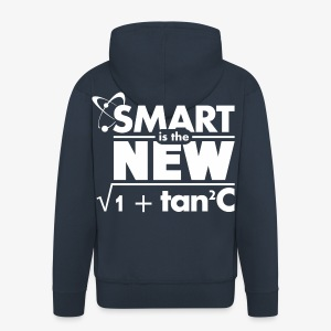 Smart is the new sexy - Männer Premium Kapuzenjacke