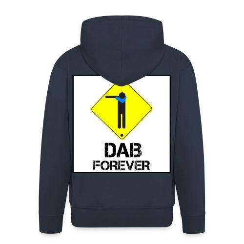 Dab Forever Yellow Black - Felpa con zip Premium da uomo
