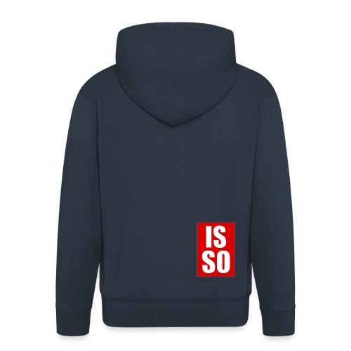 ISSO - Männer Premium Kapuzenjacke
