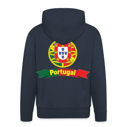 Portugal Campeão Europeu Camisolas de Futebol - Men's Premium Hooded Jacket