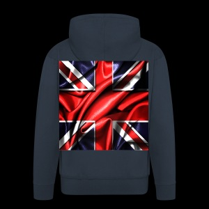 Union Jack design - Men's Premium Hooded Jacket