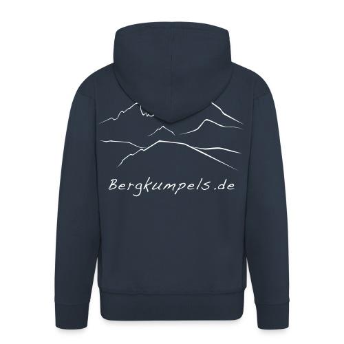 Bergkumpels Logo (1farbig) - Männer Premium Kapuzenjacke