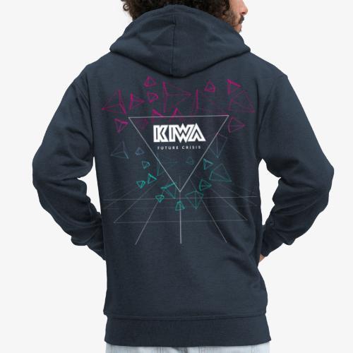 KIWA Future Crisis - Men's Premium Hooded Jacket