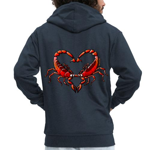 Loving Scorpions - Men's Premium Hooded Jacket