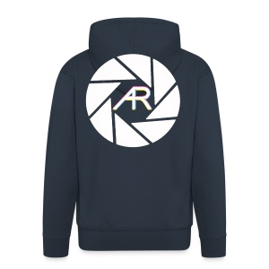AR Photography Aperture - Men's Premium Hooded Jacket