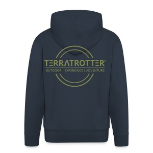 Terratrotter® | Green - Men's Premium Hooded Jacket