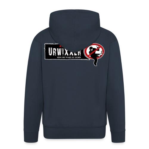 ACHTUNG Urwixxer - Männer Premium Kapuzenjacke
